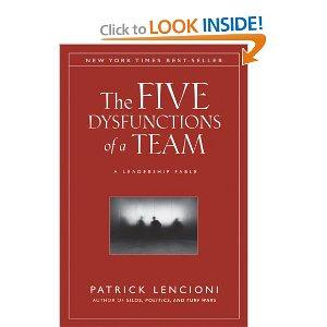 Five Dysfunctions of a Team Lencioni